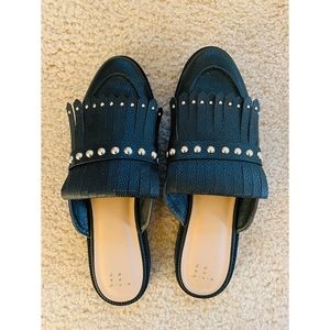 Studded Mule shoe